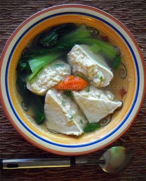 Dapur Kreasiku Nugget Tahu: Dapur Ipoek: Baso Tahu Udang (Batagor Dan Baso Tahu Kuah