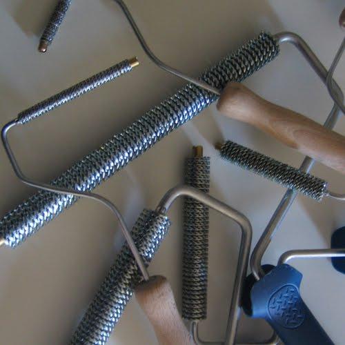 Rodillo metalico para fibra de vidrio