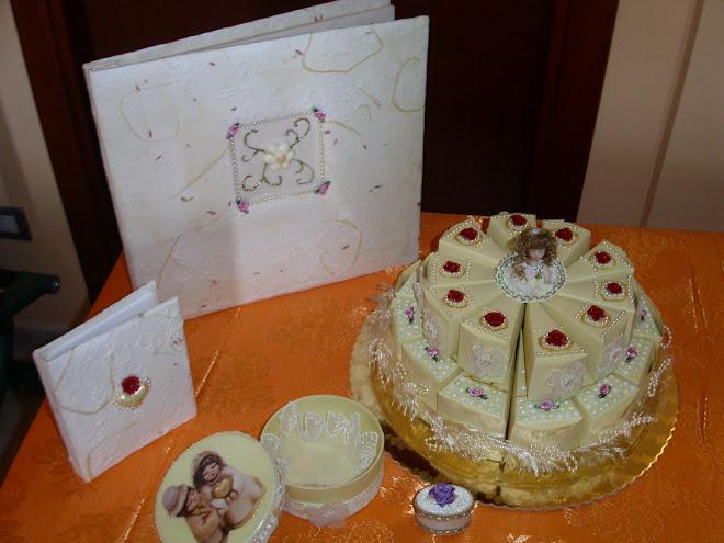 album fotograf grande € 33.00 album fotog. pic € 10.00 torta scatoline € 55.00 scatola € 12.00
