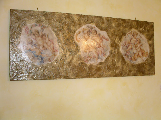 quadro a rilievo 100cm.X 40cm. € 60.00
