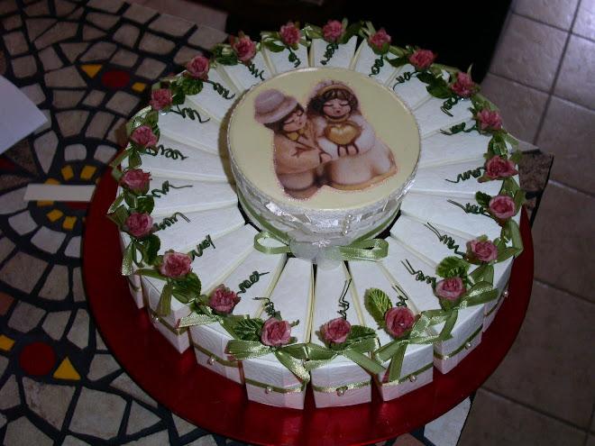 torta sposini € 80.00