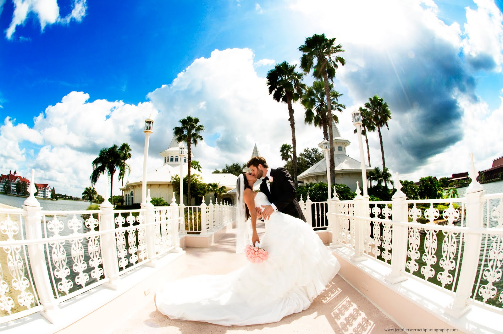 Ashley And Michael Were Married At The Walt Disney World Wedding Pavilion In Orlando Fl We Started Off Day Grand Floridian First For