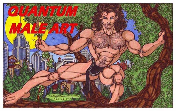 QUANTUM MALE ART