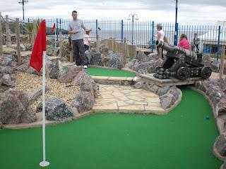Adventure Golf in Barry Island