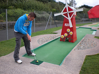 The Masters Putting Green in Southport