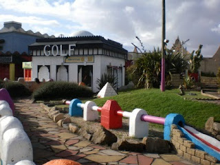 Moroccan Adventure Golf at Pleasure Land in Southport