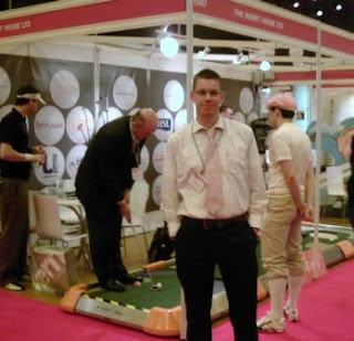 A great little UrbanCrazy Hole at the International Direct Marketing Fair in May 2007