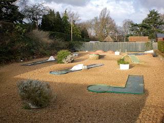 Miniature Golf course in Colchester, Essex