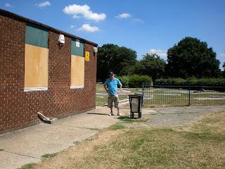 Novelty Crazy Golf at Wickford Memorial Park in Essex