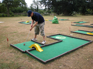 Crazy Golf in Christchurch Park, Ipswich