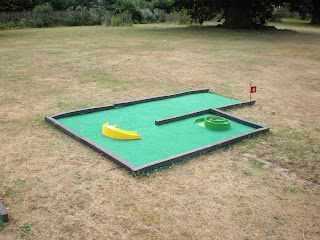 Minigolf in Christchurch Park, Ipswich
