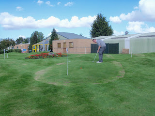 Himalayas Putting Course at Kingsway Golf Centre in Melbourn