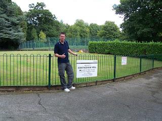 Richard Gottfried at Conyngham Hall Grounds in Knaresborough
