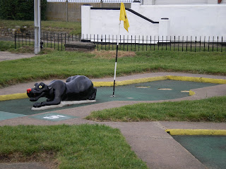 Jungle Golf at the Gardens in Great Yarmouth