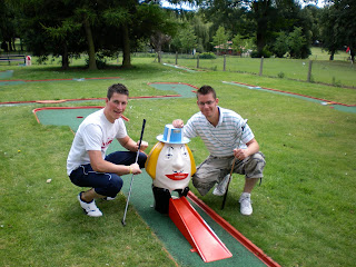 Crazy Golf course at Luton's Wardown Park