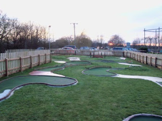 Mini Golf at Suffolk Leisure Park in Ipswich