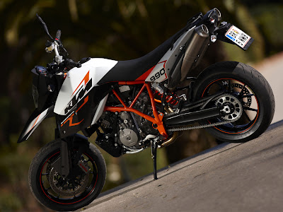 2009 ktm 990 supermoto r picture design and specification