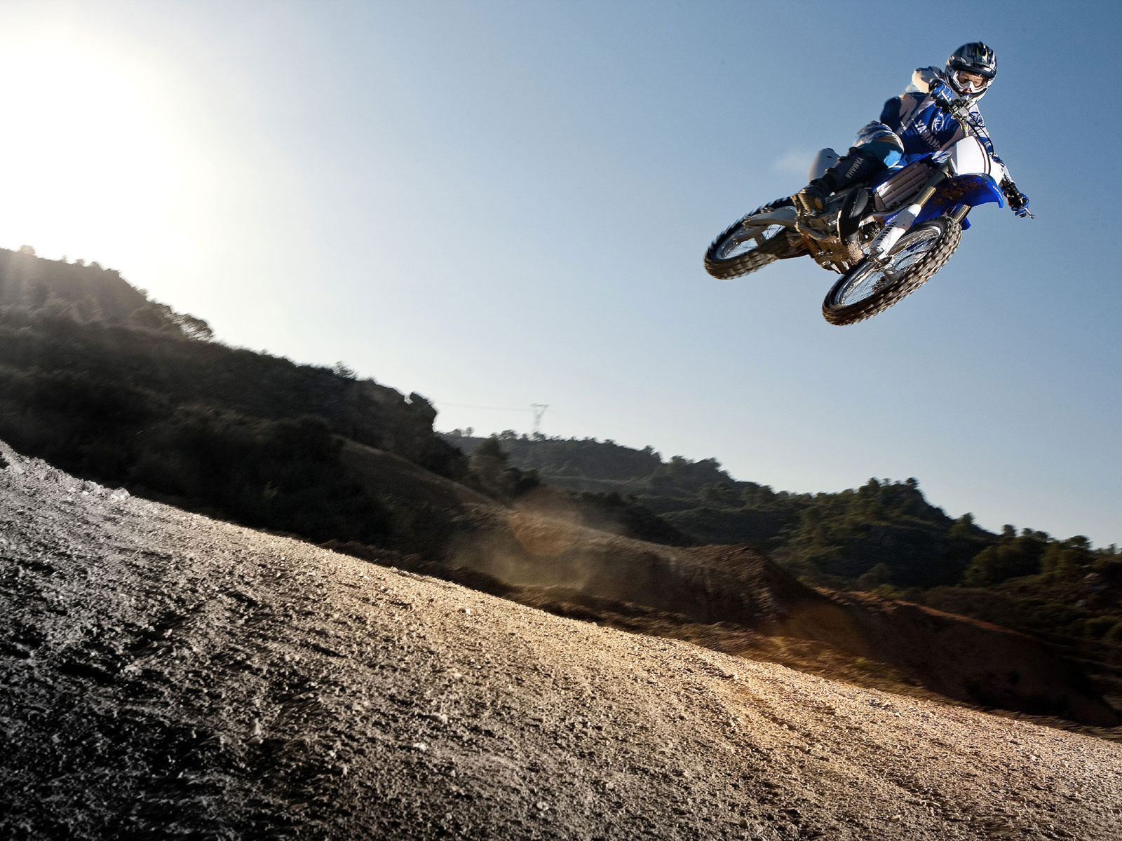 of Yamaha dirt bikes.