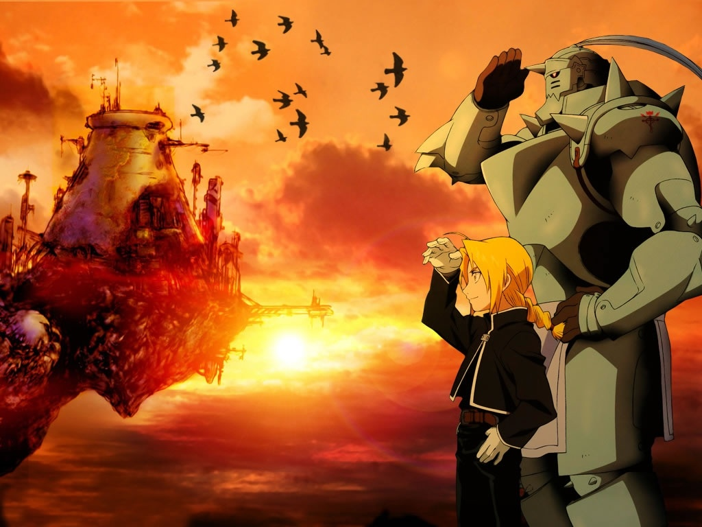Full Metal Alchemist HD & Widescreen Wallpaper 0.413563089294191