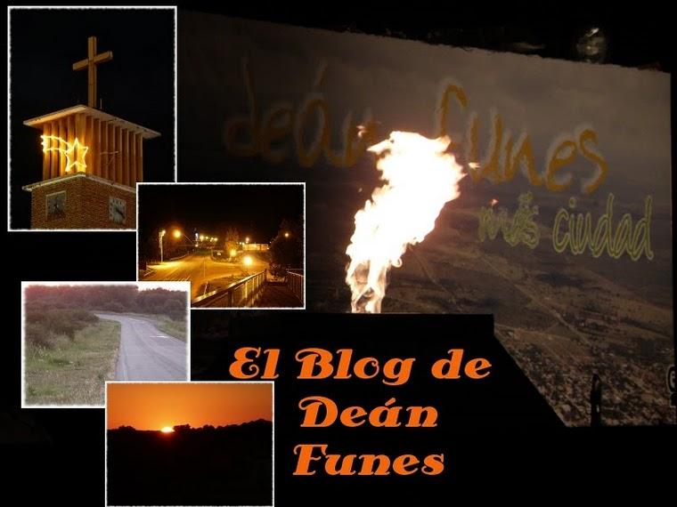"""Deán Funes, """"El Blog"""""""