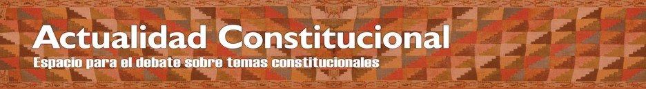 Actulidad Constitucional