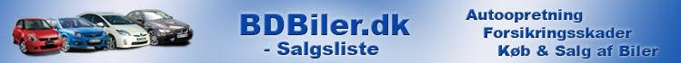 BDBiler.dk - Salgsliste, Køb & Salg af Biler