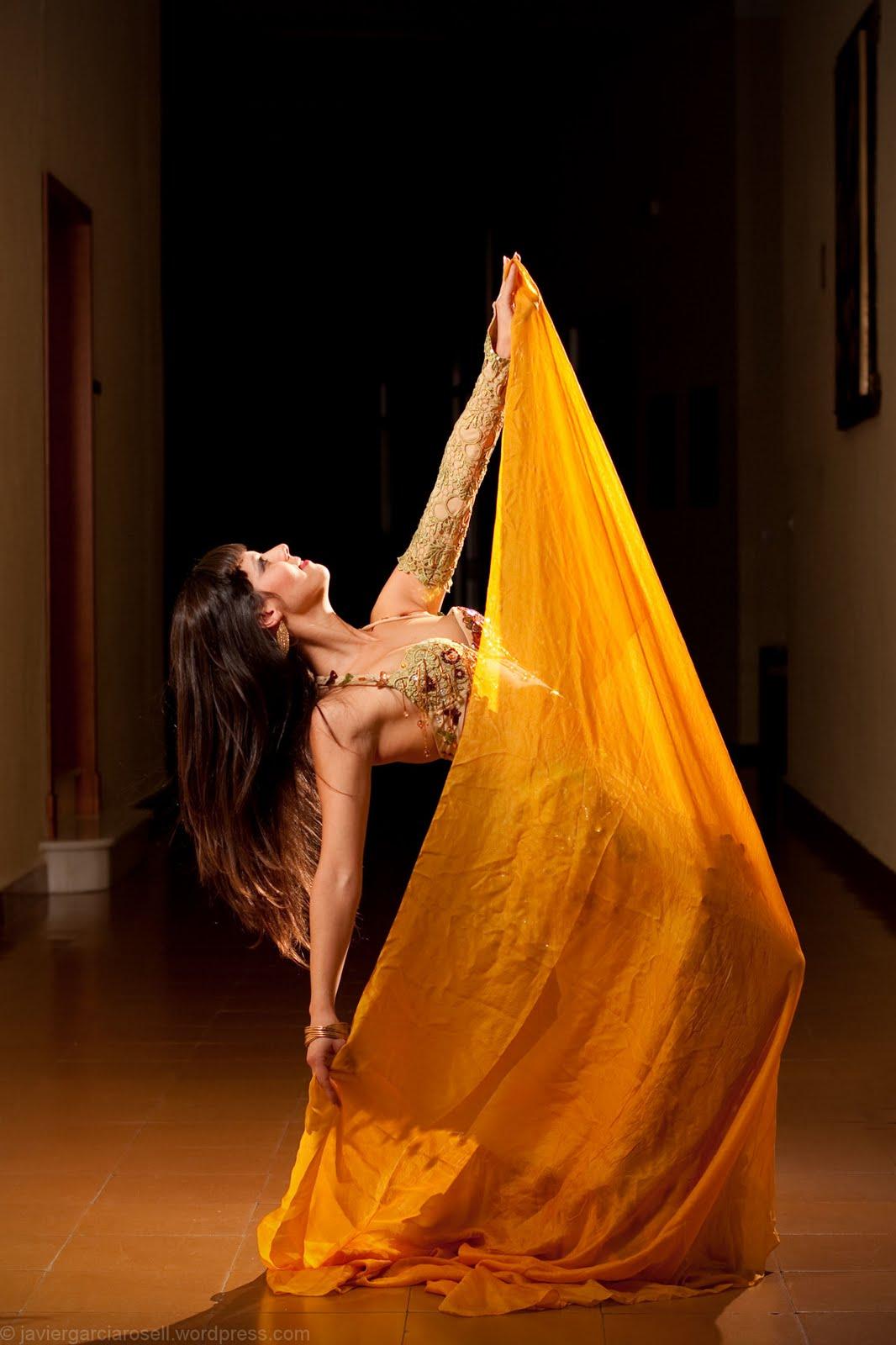danza velo:
