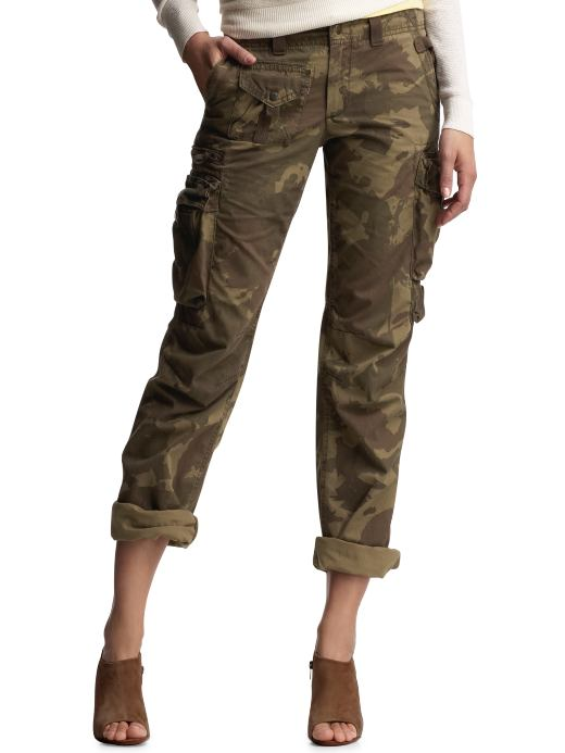 Unique Women39s Army Cargo Pants Camouflage Caogo Pant Military Green Color