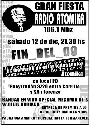 Premios Atomikos (Que son?) Radio Atomika