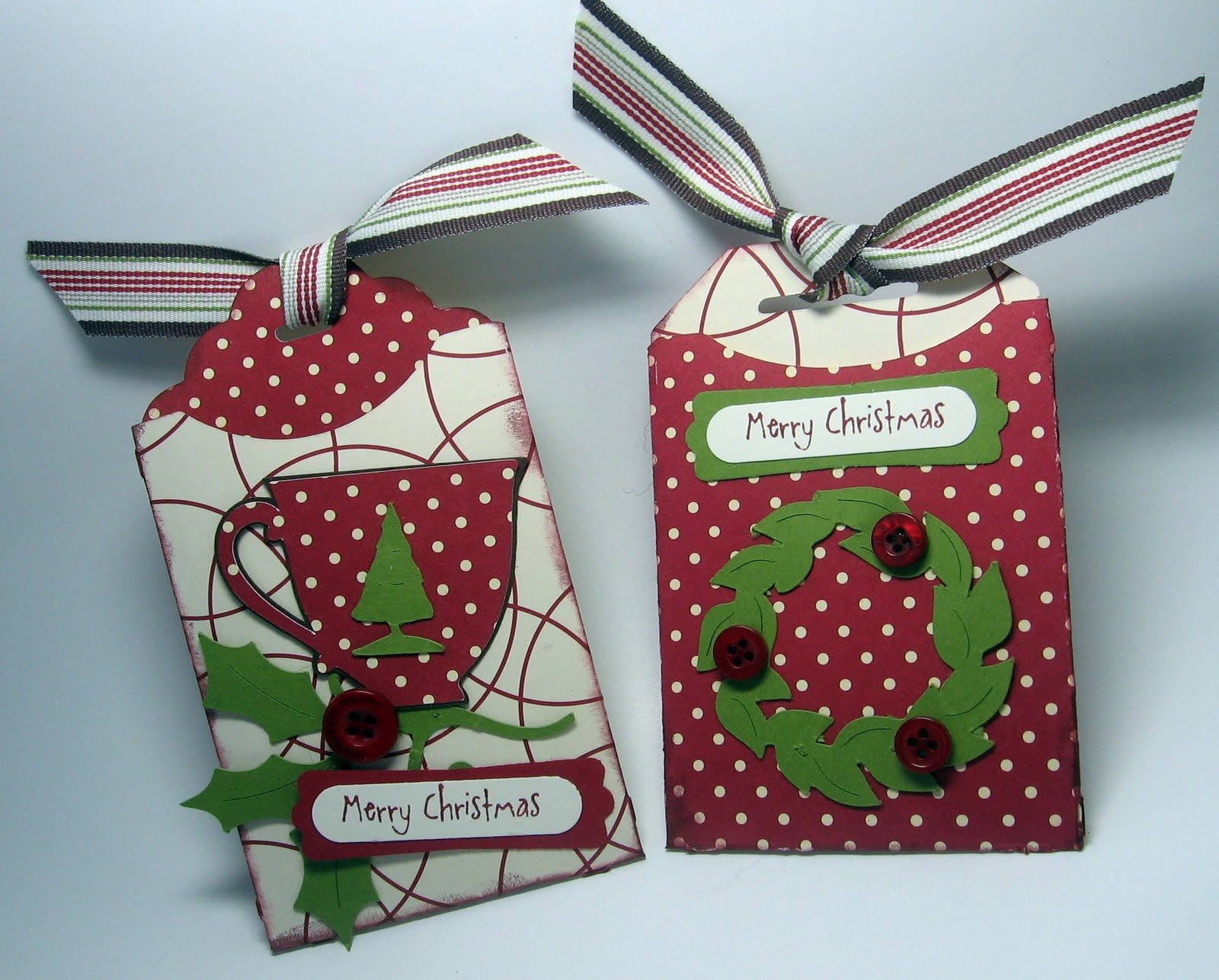 stamping up north with laurie: Cricut Christmas gift cards holders