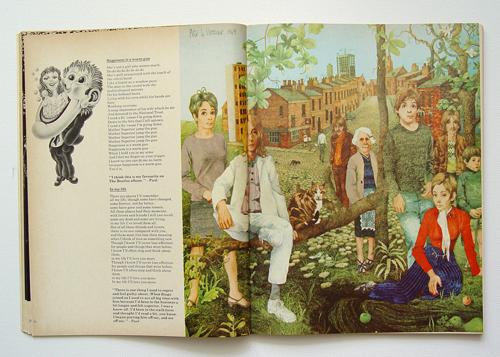 THE BEATLES ILLUSTRATED LYRICS 1969 first edition: Amazon ...