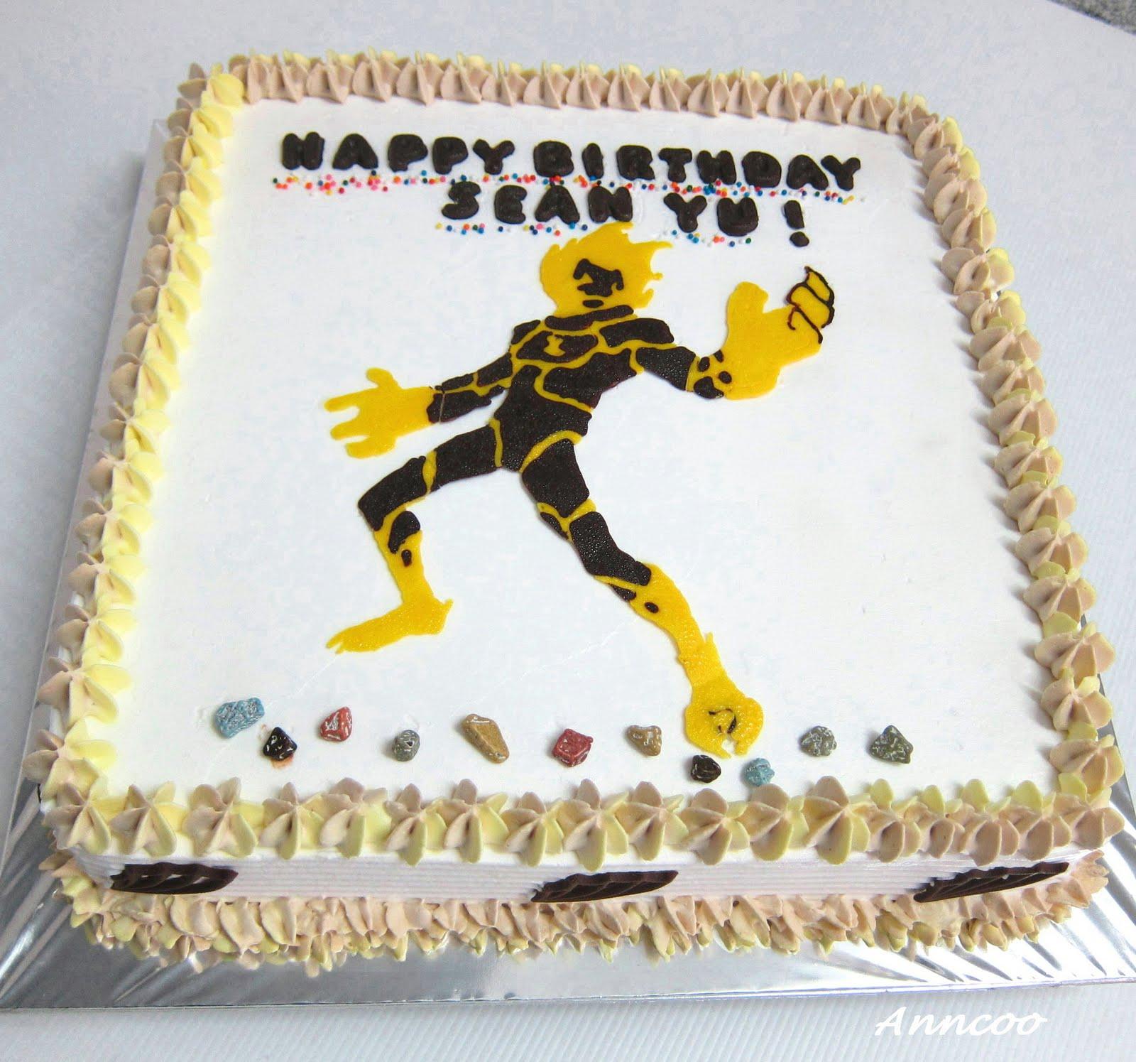 Birthday Cake Ben 10 Heatblast Anncoo Journal