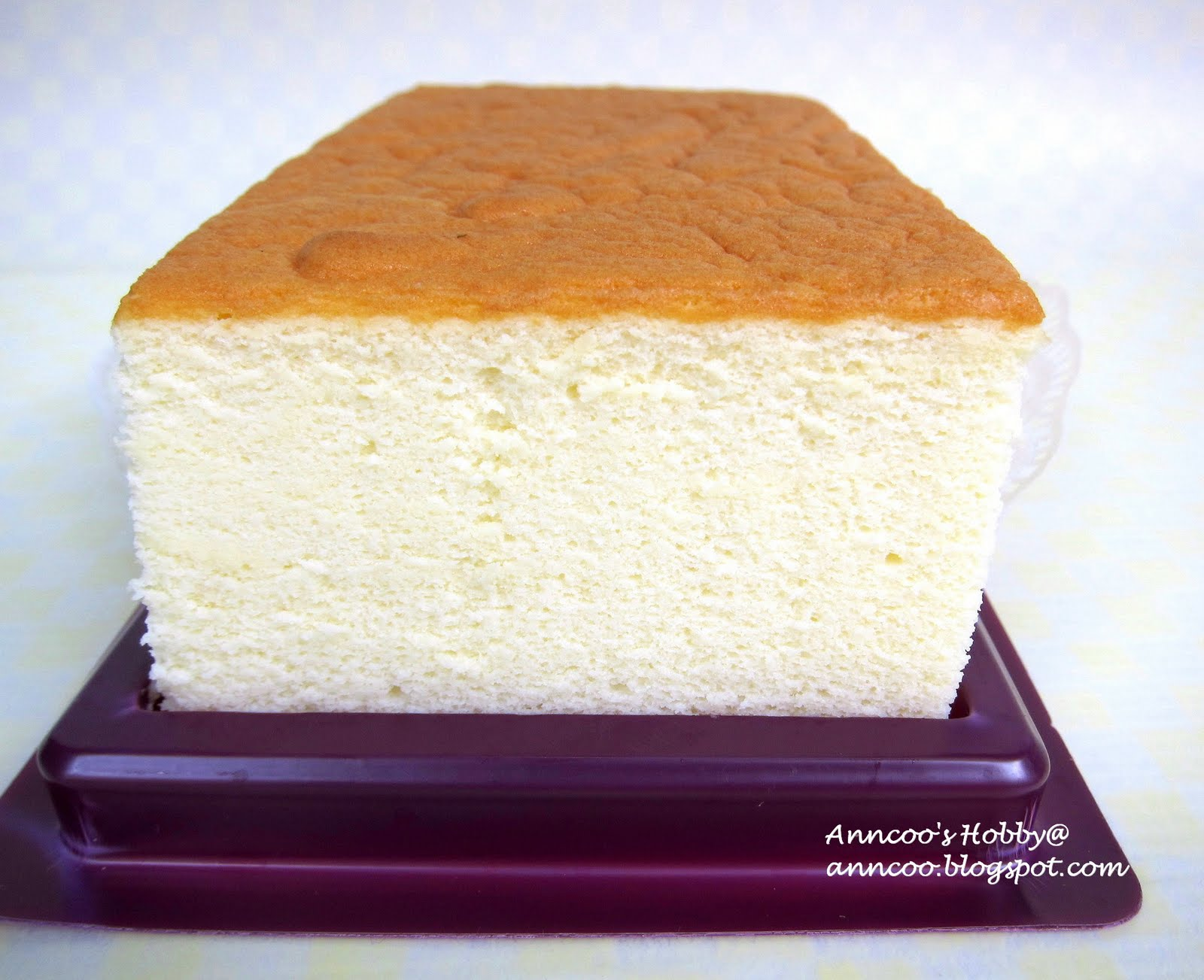 Japanese Cream Cheese Sponge Cake