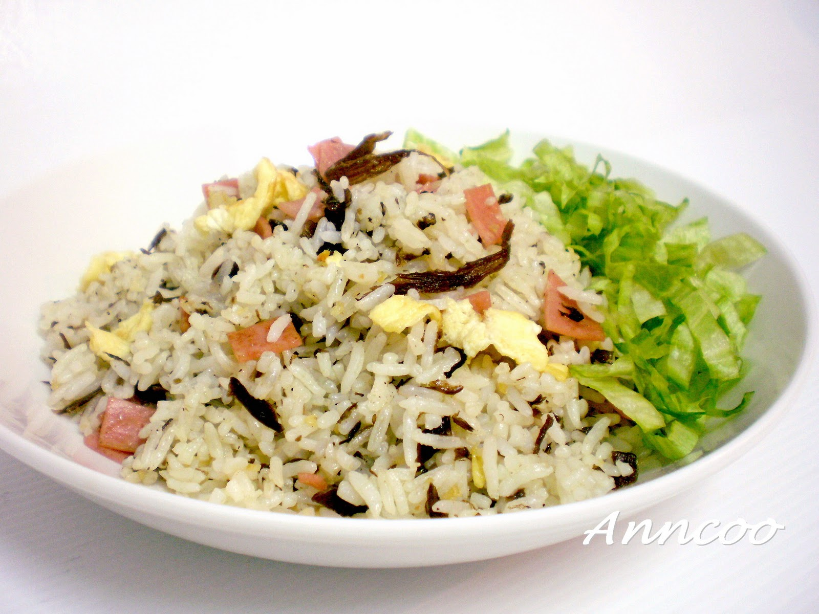 And easy recipes fried rice with olive vegetables