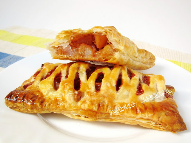 Puff Pastry ~ Apple Turnovers   Anncoo Journal - Come for Quick and ...