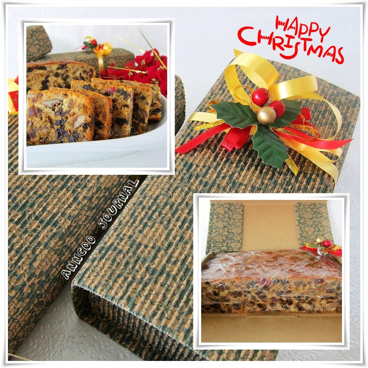 Christmas Fruit Cake 圣诞蛋糕 - Anncoo Journal