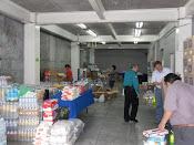 El centro de acopio para Nueva Rosita y Sabinas