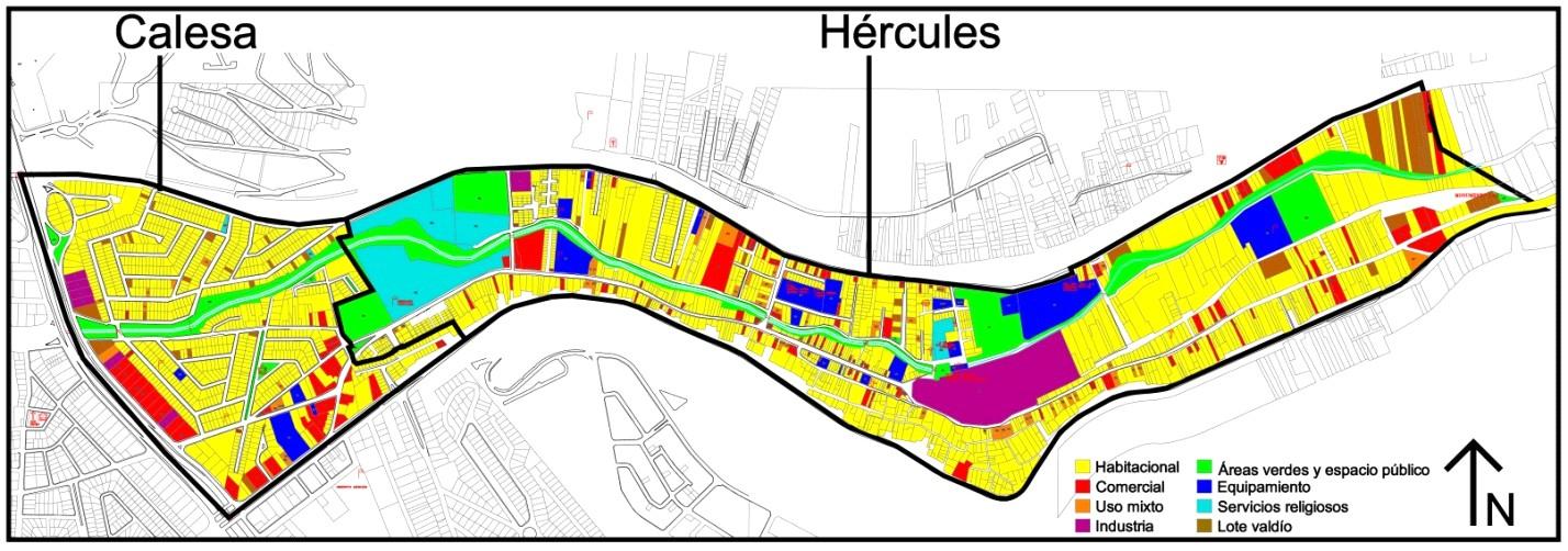 Calesa h rcules quer taro usos del suelo for 4 usos del suelo en colombia
