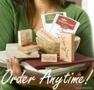 Buy Stampin' Up! Products Online -- Anytime!