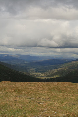 Looking North up the Spey Valley