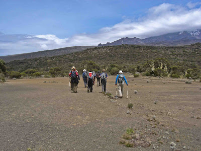 Heading to Shira Hut Camp