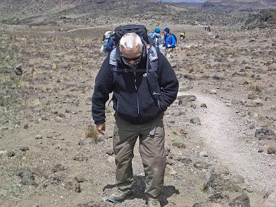 Sickness on Kilimanjaro