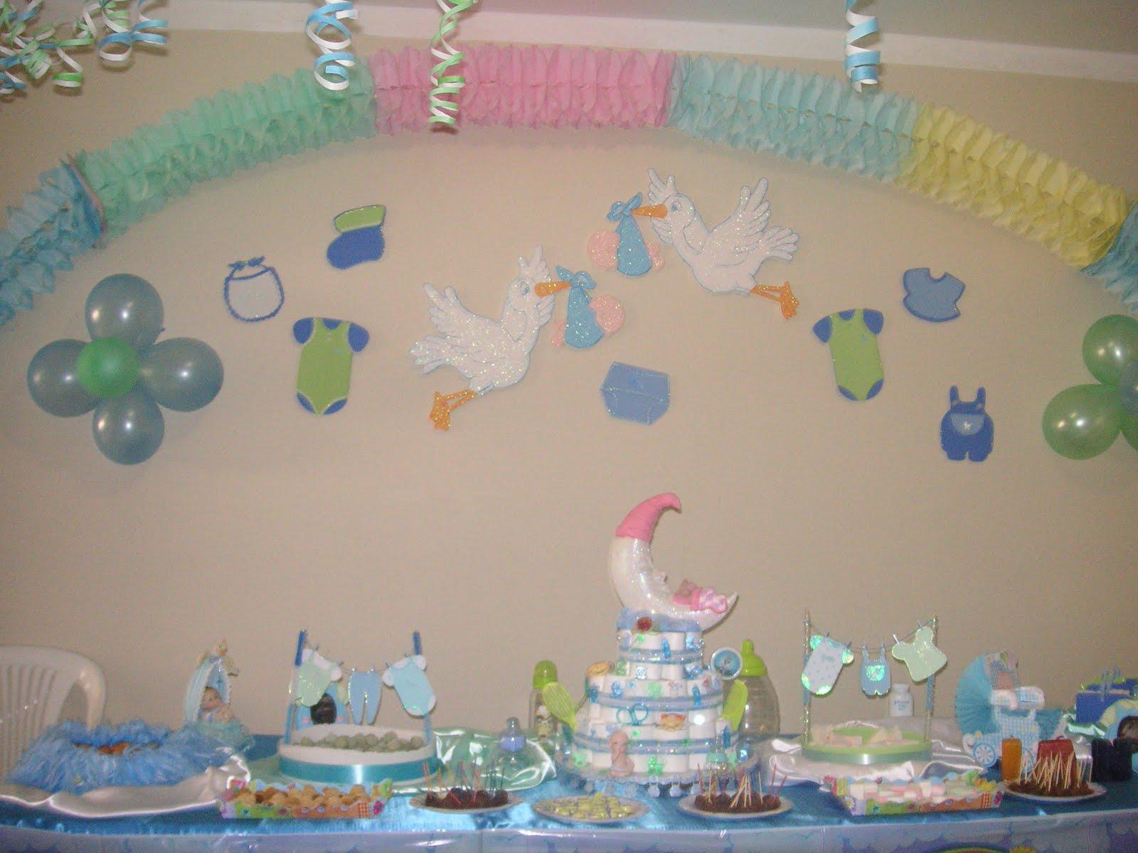 Adornos caseros para baby shower imagui - Adornos para pared ...