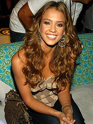light brown hair jessica alba
