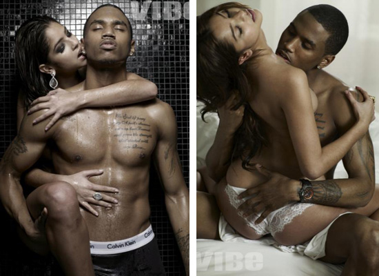 trey songz body pictures. trey songz girlfriend helen.