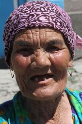 Un visage du Kirghizistan