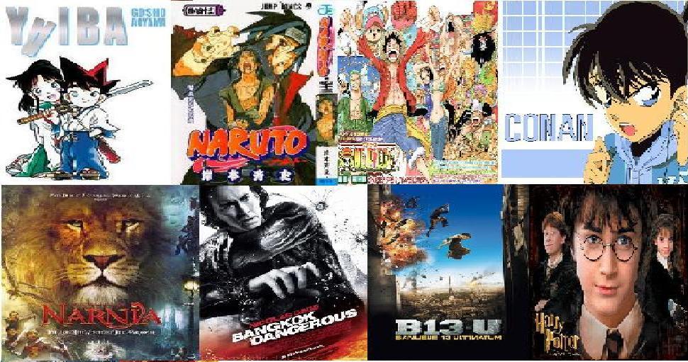 Komik Indo, Anime dan Film Seru