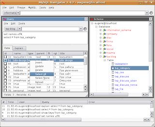 MySQL Navigator
