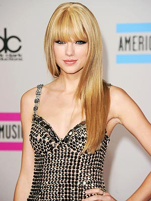 "The title of the article is called,""Taylor Swift Shows Off Straight Hair and"