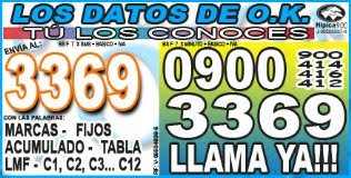 LOS DATOS DE O.K.